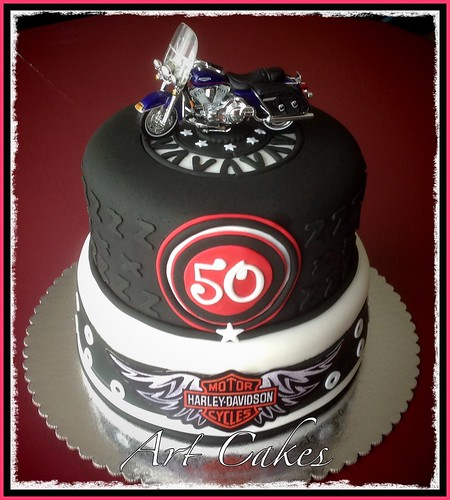 Miraculous Motorcycle Birthday Cake A Photo On Flickriver Funny Birthday Cards Online Alyptdamsfinfo