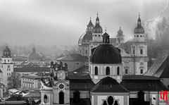 Phot.Salzburg.Cathedral.BW.01.100922.0001.jpg (frankartculinary) Tags: frankartculinaryyahoode nikon d880 d300 d200 f2 f3 f4 coolpix square places place plaza pltze strasen rue calle strada streets halftimberedhouses austria sterreich autriche salzburg cathedral dom
