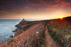 Sunrise Fort-La-Latte (PierreGuerinPhotographe) Tags: filtre filter canon brittany france landscape sun sunrise ciel ocean pose longue long exposure