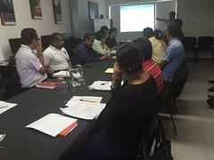 En las instalaciones de la SEMARNAT participamos en reunion de la comision de consulta forestal #Oaxaca (2)