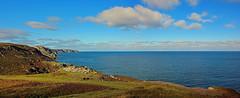 View of The Minch (v seger) Tags: the minch panorama isle lewis scotland landscape seascape sea coast sky cloud