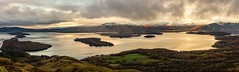 Across the loch (Stuart Fergus) Tags: scotland mountain landscape lochlomond loch fujifilm fujixt1 panorama clouds water autumn winter