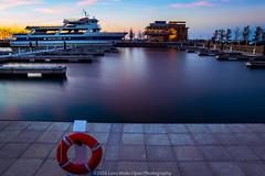 North Coast Harbor Marina (jomak14) Tags: canoneos1ds cleveland daytimelongexposure fullframe kenkond8filter lakeerie lakefront ohio tokinaaf1935mmf3545 marina boat northcoastharbor