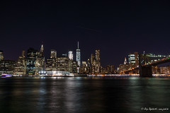 597 - New York - Manhattan - 28.10.16-LR (JrgS13) Tags: aida aidadiva aufnahmebereiche brooklynbridge hngebrcke indiansummer kreuzfahrt nachtaufnahmen newyorkcity nordamerika reise newyork usa