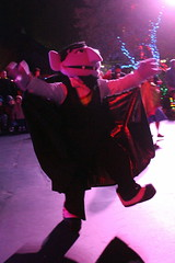 Sesame Place: Neighborhood Street Party Christmas Parade - The Count (wallyg) Tags: amusementpark buckscounty countvoncount langhorne neighborhoodstreetpartychristmasparade neighborhoodstreetpartyparade parade pennsylvania sesameplace thecount themepark sesamestreet
