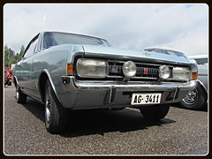 Opel Commodore A GS Coup, 1968 (v8dub) Tags: opel commodore a gs coup 1968 schweiz suisse switzerland german gm pkw voiture car wagen worldcars auto automobile automotive old oldtimer oldcar klassik classic collector