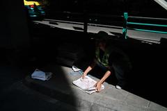 * (Sakulchai Sikitikul) Tags: street snap streetphotography summicron sony a7s leica 35mm newspaper thailand bangkok taxi