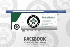 arte facebook ((keevb)) Tags: los taquitos culinária mexicana arte photoshop folder cartão visita facebook cardápio kvlyn