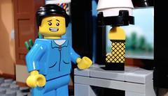 It's an Award!  https://youtu.be/O4jQPCiTVys (woodrowvillage) Tags: lego leg lamp christmas story brickfilm minifigure mini figure brick film moc woodrow village citizen fragile custom