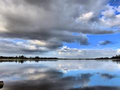 Sky clearing HDR 20161125 (Kenneth Cole Schneider) Tags: florida miramar westbrowardwca