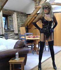 Raff 3 (Kinkette Pec) Tags: fetish masker trans pvc kinky crossdressing drag mask lgbt femalemasking corsets pervert perversion highheels rubber latex nylons crossdresser transvestite erotic fishnets shemale