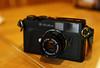 Konica Hexar RF with Minolta M-Rokkor-QF 1:2 f=40mm (Steve only) Tags: konica hexar rf minolta mrokkorqf 12 f40mm rangefinder cameraandlens sony cybershot dscrx1 carl zeiss sonnar 235 t 35mm 352 f20 tstar