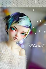 Extra short cut (Frappzilla) Tags: bjd minifee mnf luka fairyland doll