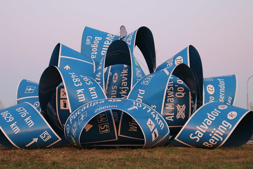 Jitish Kallat's Roundabout Artwork in Austria