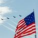 Blue Angels & Fort McHenry flag