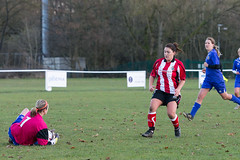 Altrincham LFC vs Stockport County LFC - December 2016-161 (MichaelRipleyPhotography) Tags: altrincham altrinchamfc altrinchamlfc altrinchamladies alty amateur ball community fans football footy header kick ladies ladiesfootball league merseyvalley nwrl nwrldivsion1south nonleague pass pitch referee robins shoot shot soccer stockportcountylfc stockportcountyladies supporters tackle team womensfootball