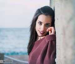 Roo (kanjungla) Tags: kanjungla posado modelo femenina exteriores playa color ojos invierno