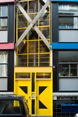 Inbetweener (photosam) Tags: fujifilm xe1 fujifilmx prime raw lightroom xf18mm12r xf18mmf2r architecture modernist housing amsterdam noordholland netherlands
