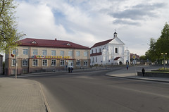 View to Church of St. Michael Archangel, 02.05.2014.