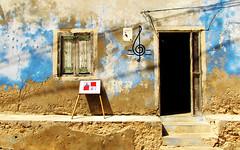 Boa Vista ... (Augusta Onida) Tags: musica music casa house colore color azzurro blue porta door window finestra capoverde salrei boavista