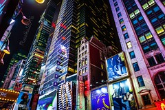 Times Square - NYC (Matilda Diamant) Tags: times square ny rusalka usa manhattan midtown new york city urban architecture night seventh avenue