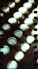 Typewriter (Giona4) Tags: film analog vintage lomo xpro lomography lubitel analogicait