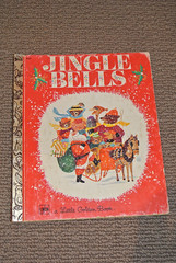 Vintage Jingle Bells Little Golden Book (jadedoz) Tags: christmas bells vintage book golden little books jingle