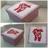 foto (2) (limonada Gelada) Tags: caixa patchwork bailarina caixas patchworkembutido