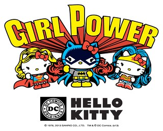凱蒂貓 × DC COMICS =「GIRL POWER」