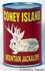 Coney Island Brand Exotic Canned Food #57: Mountain Jackalope, MMIIII
