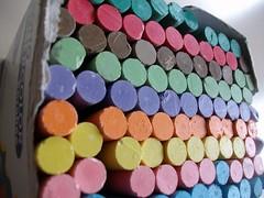 Chalk Corridor (fdecomite) Tags: circle chalk packing craie