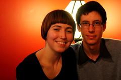 almost (Grenzeloos1 -) Tags: boyfriend daughter brisbane queensland kenmore doubleportrait