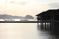 Palawan, The Philippines (Shamus Sillar) Tags: travel sunset sea beach boat marine asia snorkel turtle philippines lagoon cliffs resort snorkelling deserted banca elnido palawan lagen miniloc bacuitbay pangulasian