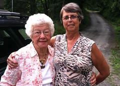 Mrs. Doris Campbell and Nancy Crissman