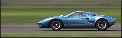 Ford GT40 (kimbenson45) Tags: blue motion green classic car speed movement action panning fordgt40