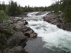 Vacation photo (petrusko.rm) Tags: summer vacation sweden sony dsc jämtland 2013 hx20 vålåforsen