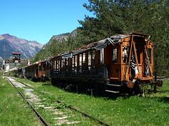 El tren del abandono (Jesus_l) Tags: espaa tren europa huesca estacin canfranc jesusl