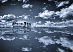 Noah's Ark (radonracer) Tags: bw monochrome sw ark noahs noahsark radonart wwwradonartde