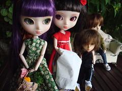 KURO II. 4 Mômo contra Kuro (Lunalila1) Tags: outfit doll track dress handmade iii mj 4 lila wig shade link groove pullip kira kuro tachibana xiaofan taeyang stica mômo balastegui mômocontrakuro