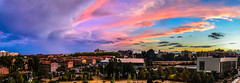 Espectacular cielo después de la tormenta / Dramatic sky after the storm (aldairuber) Tags: sunset sky storm twilight catalonia cielo tormenta puestadesol cataluña reus crepúsculo espectacularcielo dramaticskty intensoscolores