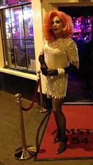 Live in Amsterdam (Gloria Vulcano) Tags: party drag theater dress tgirl transvestite dragqueen diva crossdresser crossdress impersonator partygirl travestie travestiet