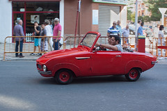 "XI Concentracin Nacional de automviles clsicos y antiguos IV. Biscter 200-F ""Pegasn"". (Recesvintus) Tags: red espaa car spain rojo europe rally convertible coche m42 manualfocus classiccars microcar albacete softtop castillalamancha 200f descapotable biscuter cochesclsicos 2013 feriadealbacete canoneos50d biplaza microcoche recesvintus sigmaminiwideii28mmf28 mygearandme twoseated pegasn sigma28f28miniwide xiconcentracinnacionaldeautomvilesclsicosyantiguos automvilclubmancha potd:country=es"