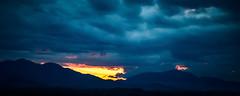 Breaking Dawn (Mohafiz M.H. Photography (www.lensa13.com)) Tags: sunset panorama cloud sun mountain tourism nature clouds sunrise woods moody view hill mother tanahmerah hillview kelantan