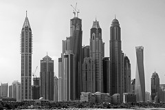 Highrise (PIVAMA|photography) Tags: sky building tower skyline marina high dubai apartments apartment flat 101 rise twisted offices scraper apartementen scewed