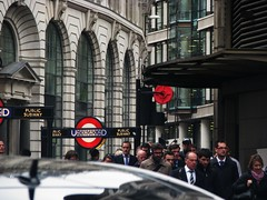 Rush hour, London (Dan_DC) Tags: england london stock financialdistrict license vip rushhour executive commuters rf cityoflondon imagebank privilege executie flatfee