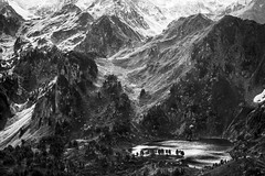 Mountains - B&W (FEGO Photographies) Tags: blackandwhite bw france landscape noiretblanc nb pyrnes canonef24105mmf4lisusm fego canoneos7d fegoguer franckemanuelgoguer