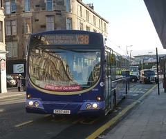 69260 - SK57 ADX (Cammies Transport Photography) Tags: bus station scotland eclipse volvo coach edinburgh terrace first east wright haymarket gemini a8 falkirk x38 69260 sk57adx