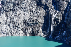 El Chalten, Argentina - Waterfall @Fitz Roy (GlobeTrotter 2000) Tags: chile travel patagonia mountain lake snow argentina trekking trek landscape waterfall hiking fitzroy peak visit hike lagos tres elcalafate elchalten tourim souteamerica