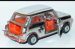 AUSTIN Mini Cooper (baffalie) Tags: old classic car vintage toys miniature jouet ancien diecast jeux