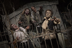 Funky Zombies (Placebo #4) Tags: halloween zombie frighttown